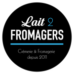 Logo Lait 2 Fromagers